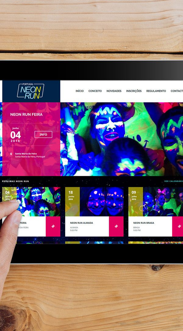 neon run neon run Neon Run | Website neon run 2016 600x1080 portfolio Portfolio Dreamweb neon run 2016 600x1080