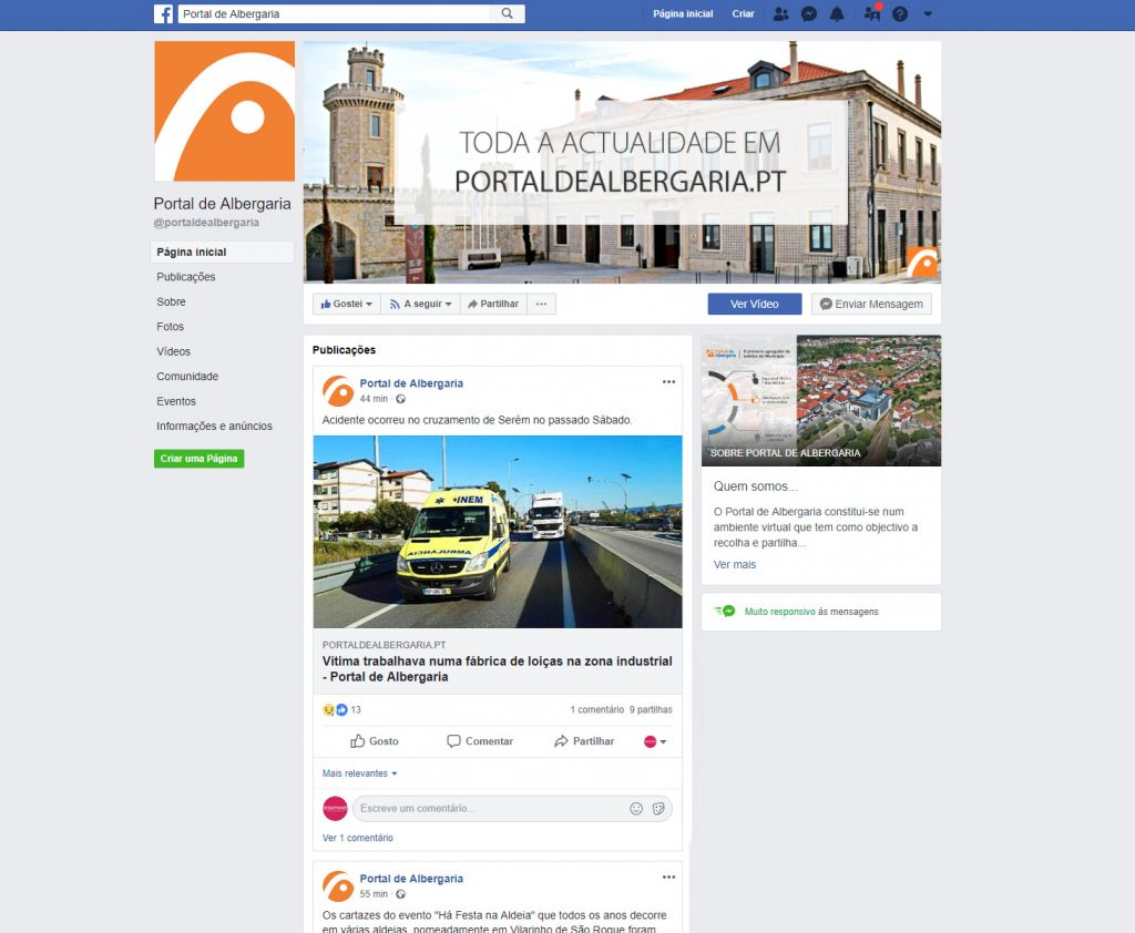 portal-gestao-de-redes-sociais portal de albergaria Portal de Albergaria | Website | Design Gráfico | Gestão de Redes Sociais portal gestao de redes sociais 1024x842