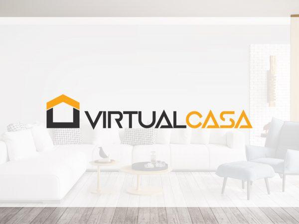 design gráfico virtual casa Virtual Casa | Design de Logótipo virtual casa 600x450