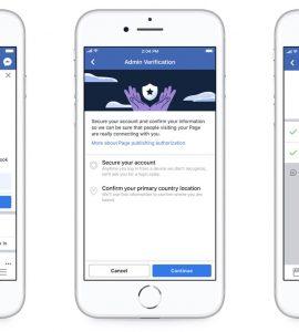 Novas ferramentas para garantir a a autenticidade e transparência de páginas