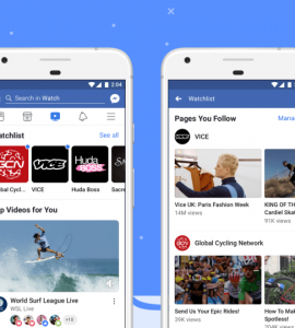 "Facebook ataca Youtube com o ""Facebook Watch"""