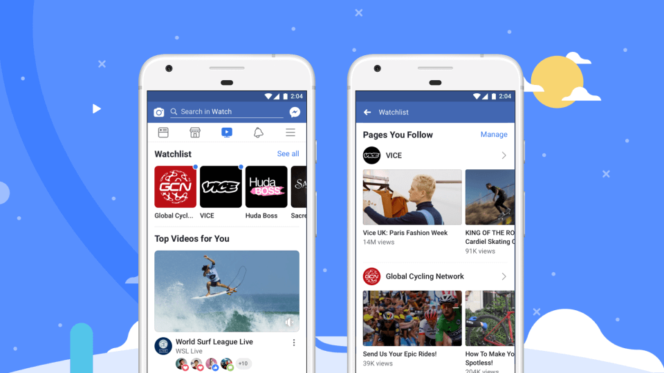 "watch watch Facebook ataca Youtube com o ""Facebook Watch"" watch"