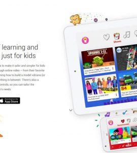 Aplicação Youtube Kids disponível a partir de hoje!