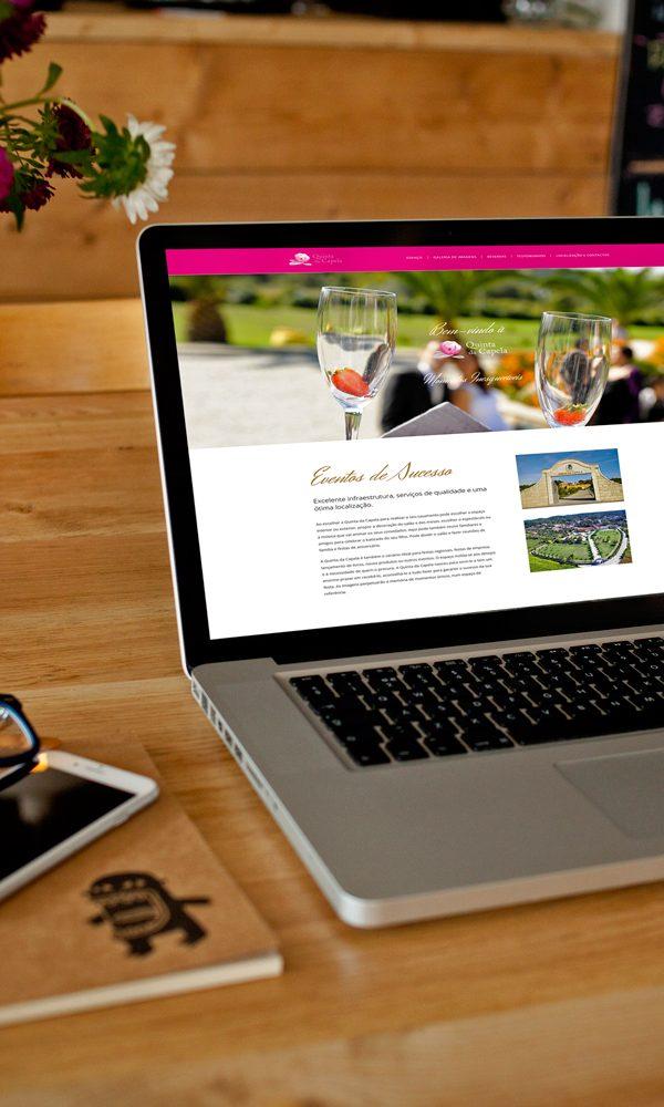 web design webdesign Quinta da Capela | Website quinta da capela 600x1000 portfolio Portfolio Dreamweb quinta da capela 600x1000