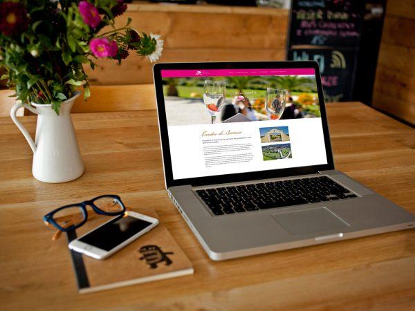 web design webdesign Quinta da Capela | Website quinta da capela 600x450