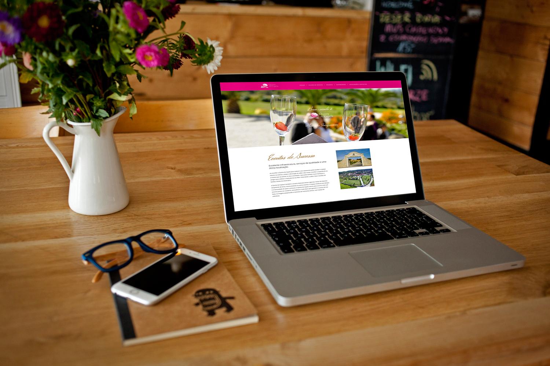 web design webdesign Quinta da Capela | Website quinta da capela
