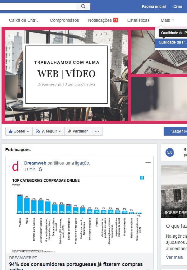 """qualidade-da-pagina-1 facebook Facebook implementa ferramenta que analisa a """"Qualidade da Página"""" qualidade da p  gina 1 600x868"""
