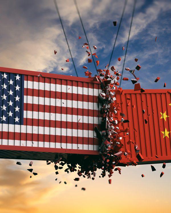 china eua huawei O início de uma nova Guerra Comercial guerra entre EUA Huawei 1 600x749