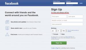 """facebook-free facebook O Facebook abandonou o slogan """"É grátis e sempre será"""". Será que vai ser pago? facebook free 300x176"""