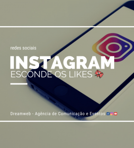 Instagram esconde os likes