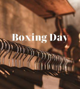 Dicas para um Boxing Day de sucesso!